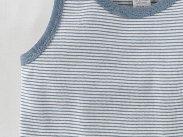 Unterhemd Jungs 3er-Set aus reiner Bio-Baumwolle