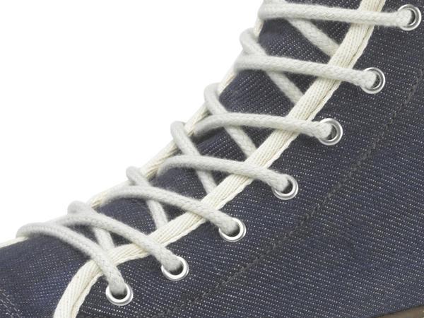 Upcycling Sneaker für Ihn aus Bio-Denim und Naturkautschuk