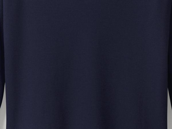V-Shirt aus reiner Bio-Baumwolle