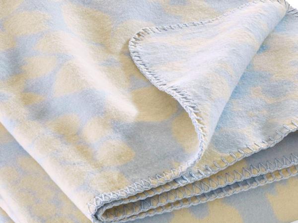Velours-Decke Leila aus reiner Bio-Baumwolle