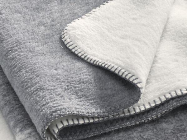 Velours-Plaid Kiri aus reiner Bio-Baumwolle