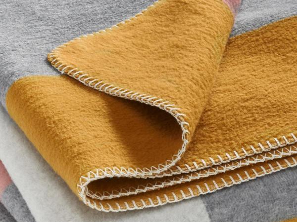 Veloursdecke Tahata aus reiner Bio-Baumwolle