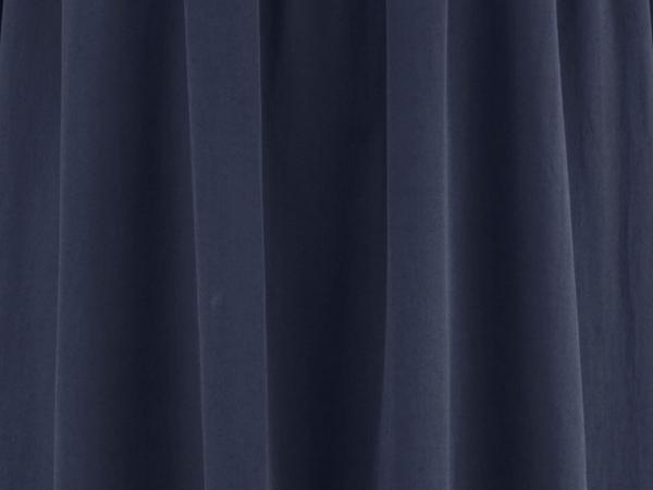 Volant-Kleid aus Bio-Baumwolle mit Seide