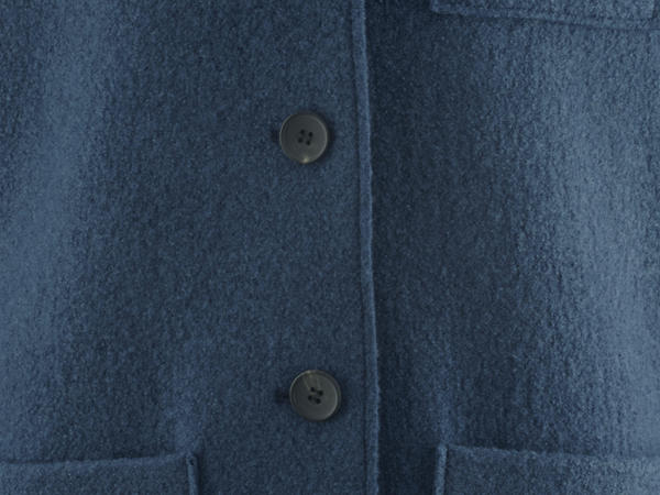 Walk Mantel aus reiner Bio-Schurwolle