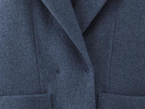 Walk blazer made from pure organic merino wool