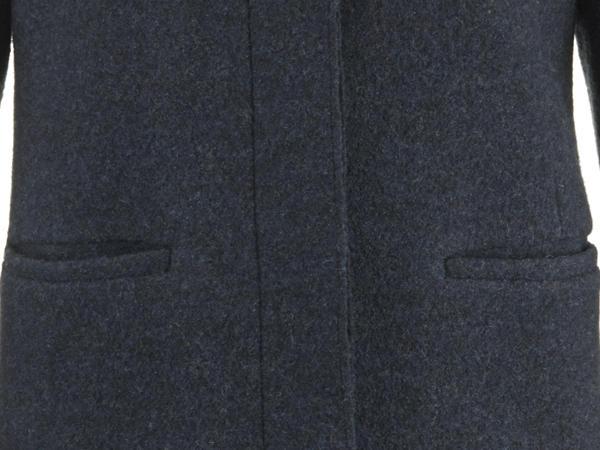 Walkmantel aus reiner Schurwolle