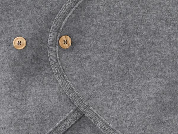 Walksack made from pure organic merino wool