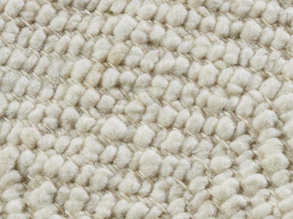 Webteppich Ruga aus reiner Deichschafwolle