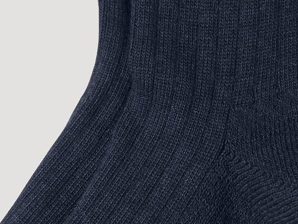 Wellness-Socke aus reiner Bio-Baumwolle
