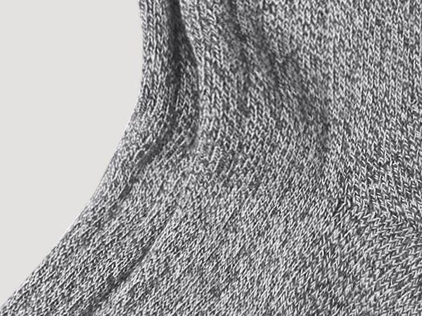 Wellness sock made from pure organic cotton