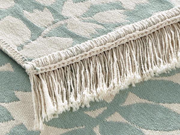 Wendeteppich Follini aus reiner Bio-Baumwolle