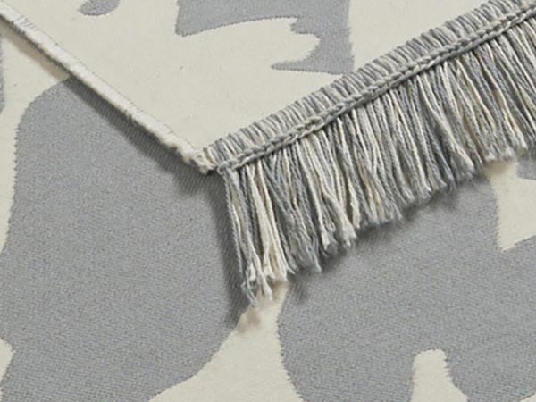 Wendeteppich Maija aus reiner Bio-Baumwolle
