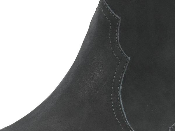 Western-Stiefelette aus Nubukleder