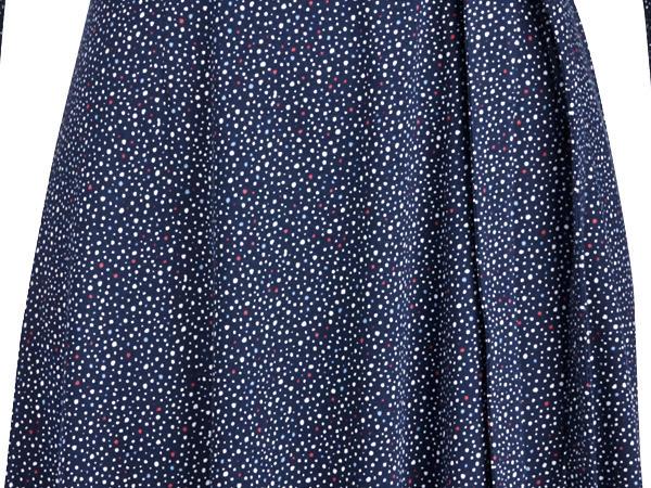 Wickelkleid aus reiner Bio-Baumwolle