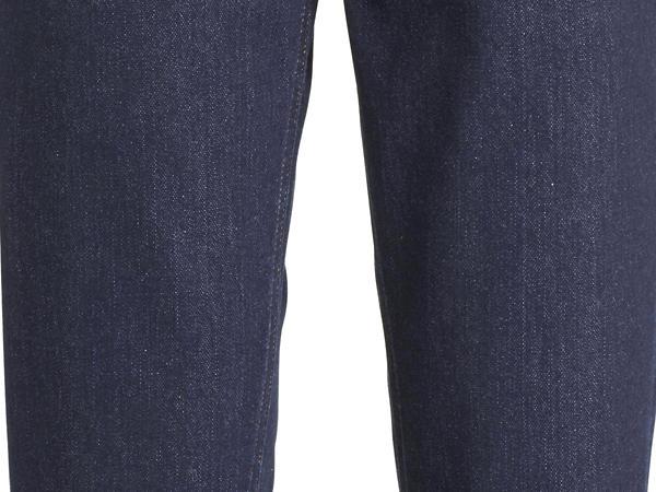 Wolldenim Jeans Barrel Leg aus Bio-Baumwolle mit Schurwolle