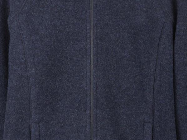 Wollfleece-Jacke aus Bio-Merinowolle
