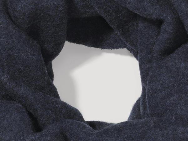Wollfleece-Loop aus reiner Bio-Schurwolle