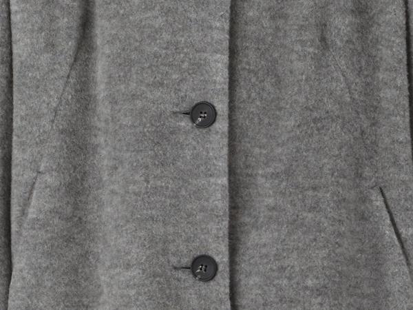 Wollfleece-Mantel aus reiner Bio-Merinowolle