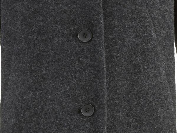 Wollfleece-Mantel aus reiner Bio-Schurwolle