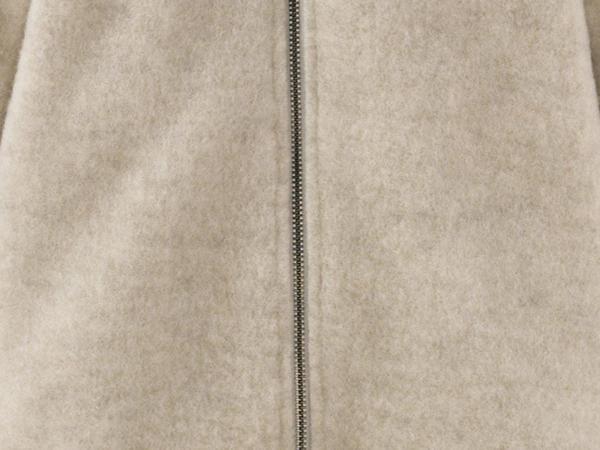 Wollfleece Overall aus reiner Bio-Merinowolle