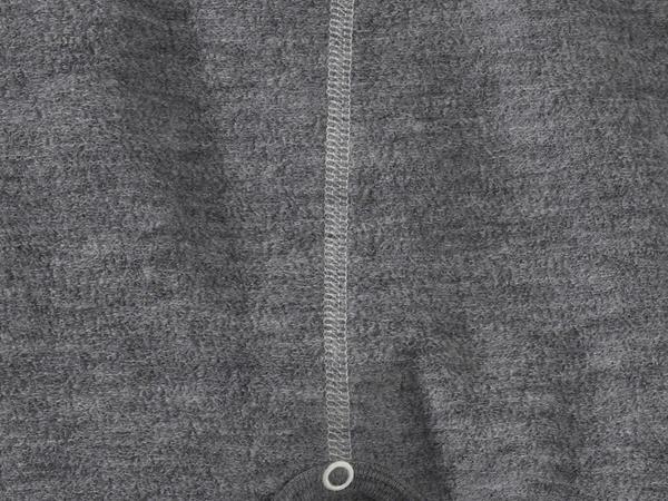 Wollfrottee Strampler aus reiner Schurwolle