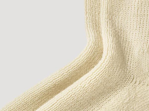 Wollsocke aus Bio-Merinowolle