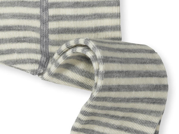 Wollstrumpfhose aus Schurwolle mit Bio-Baumwolle und Elasthan
