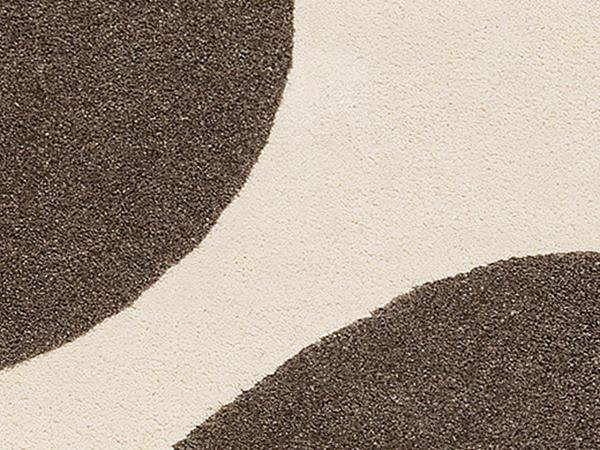 Wollteppich DOTS aus Himalana-Schurwolle