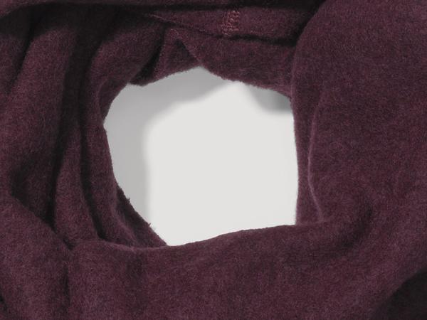 Wool fleece loop made of pure organic new wool