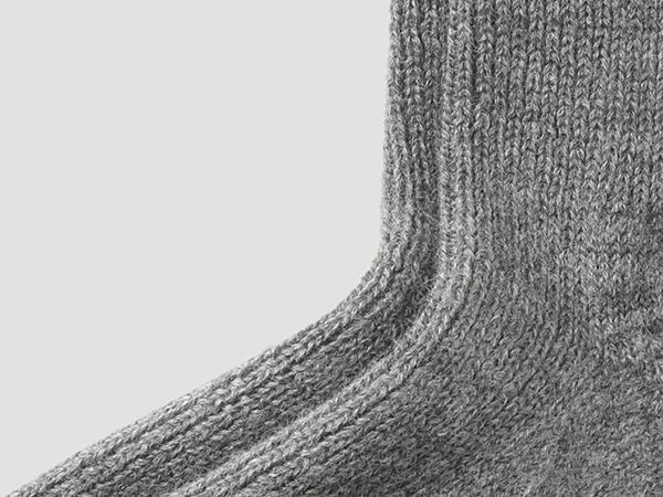 Wool sock made from pure organic merino wool