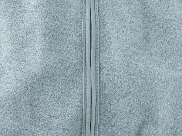 Wool terry sleeping bag made from pure organic merino wool