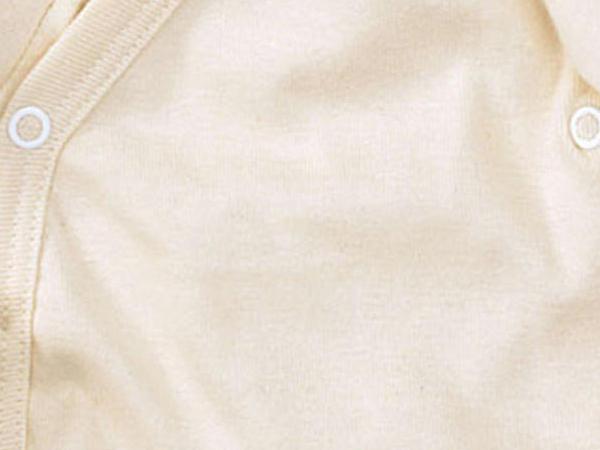 Wrap shirt made of pure organic cotton