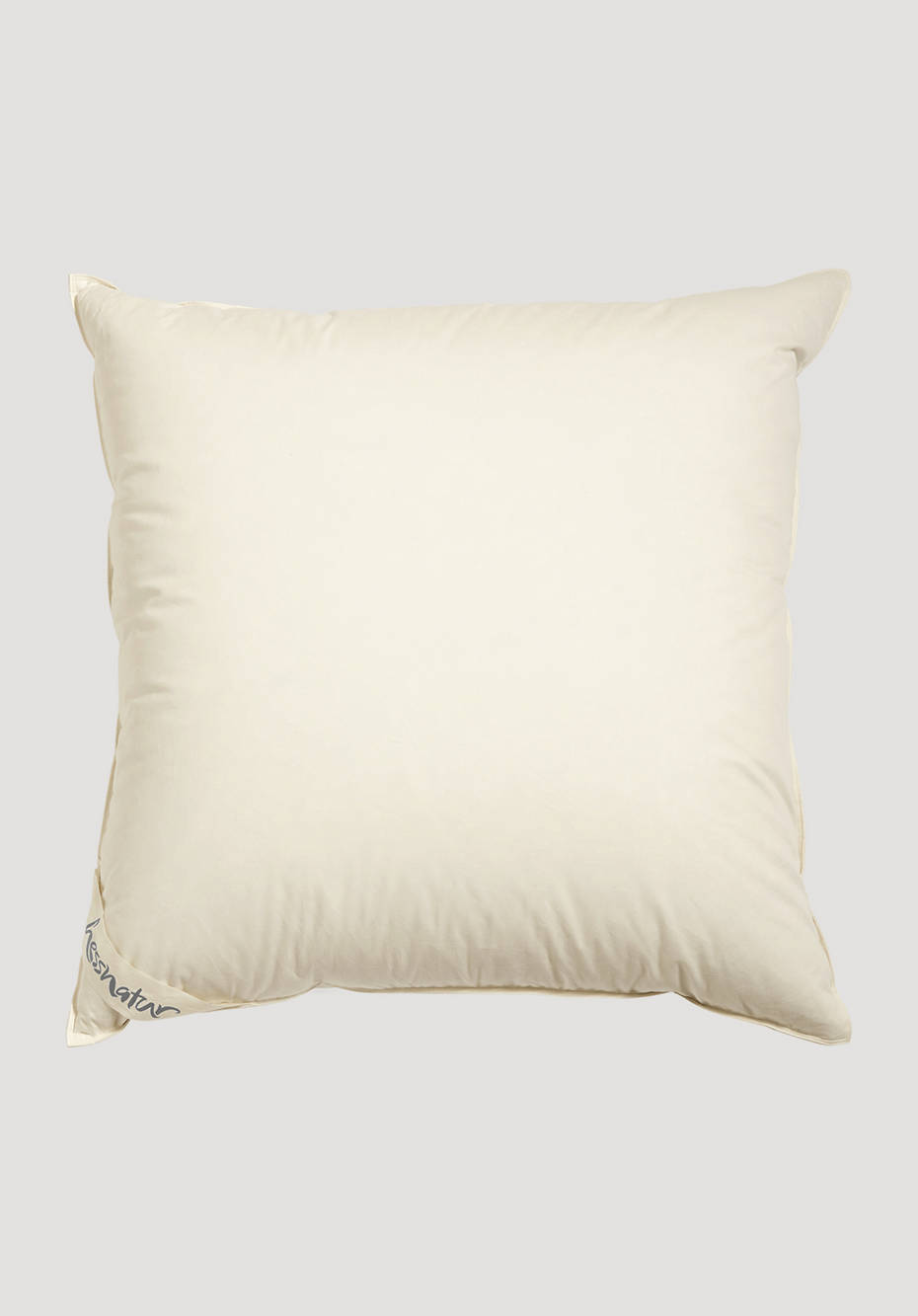 3-chamber pillow with fair down and feathers
