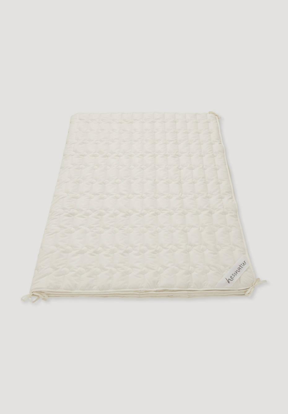 4-season blanket made of pure organic cotton