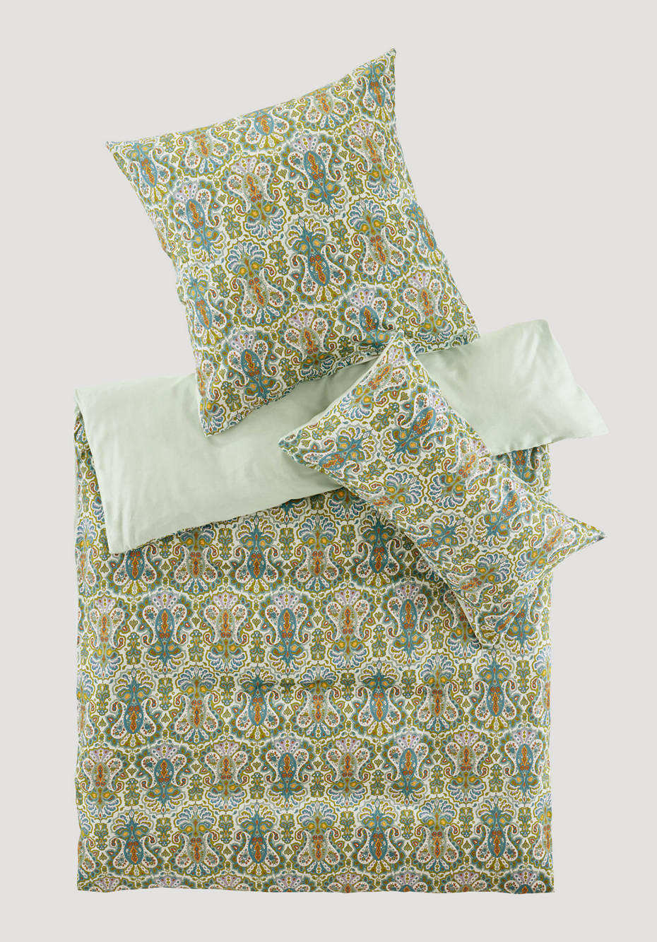 Anjali satin bed linen made from pure organic cotton