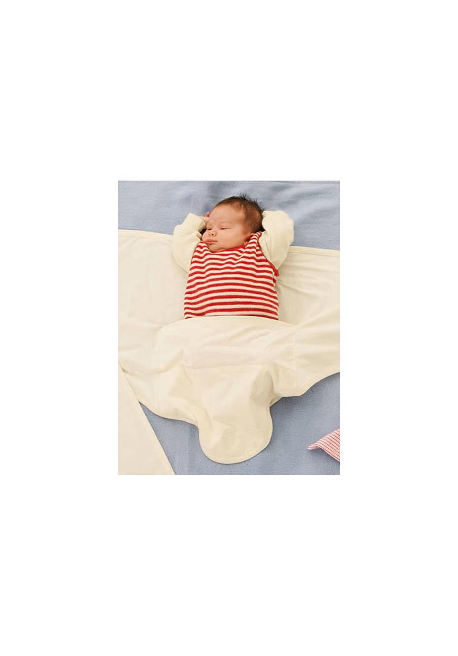 Baby Pucktuch aus reiner Bio-Baumwolle