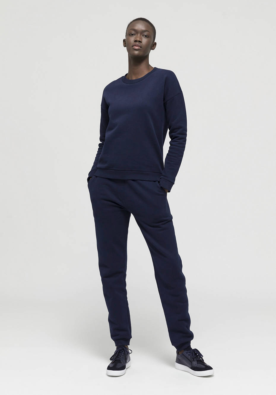 BedRecycling sweatshirt made from pure organic cotton