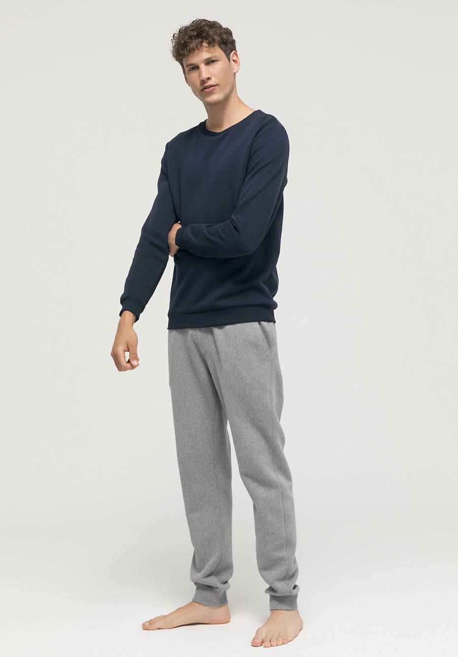 Bed recycling sweatshirt made from pure organic cotton