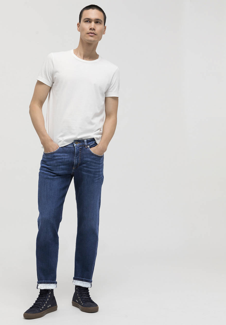 Ben straight fit jeans made of organic denim