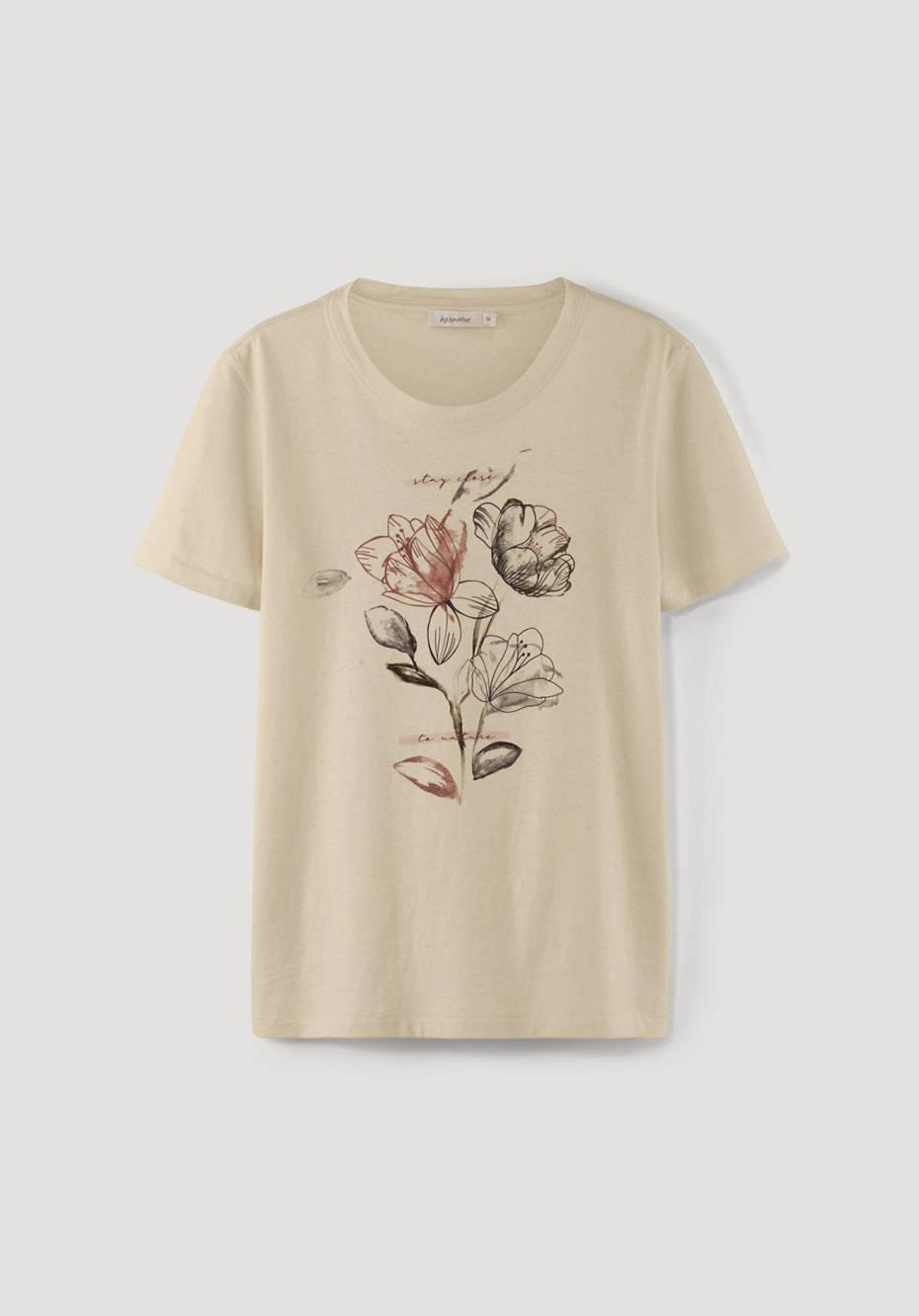 BetteRecycling T-Shirt aus reiner Bio-Baumwolle