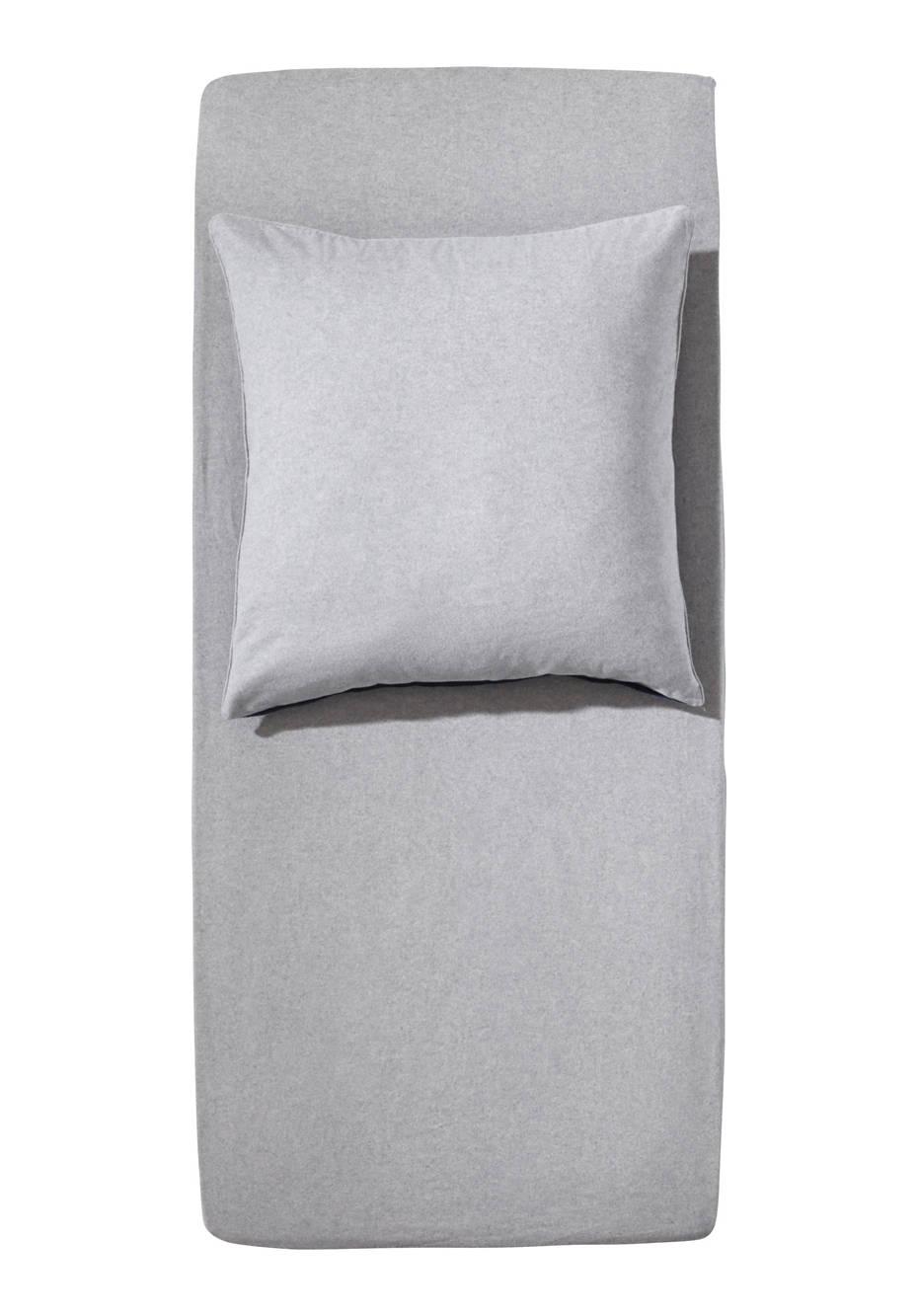 Biber Spannbettlaken fürs Kinderbett aus reiner Bio-Baumwolle
