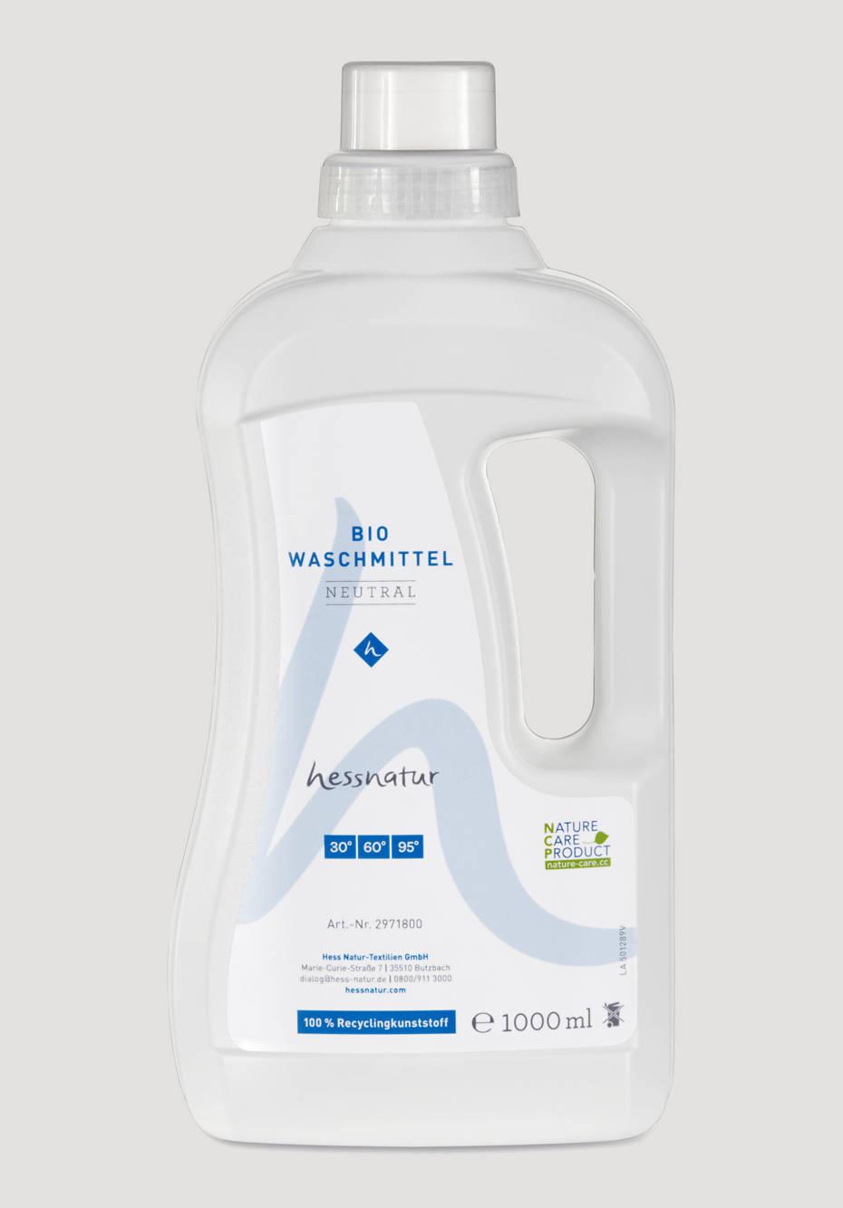 Bio-Waschmittel neutral für Baumwolle, Leinen und Hanf
