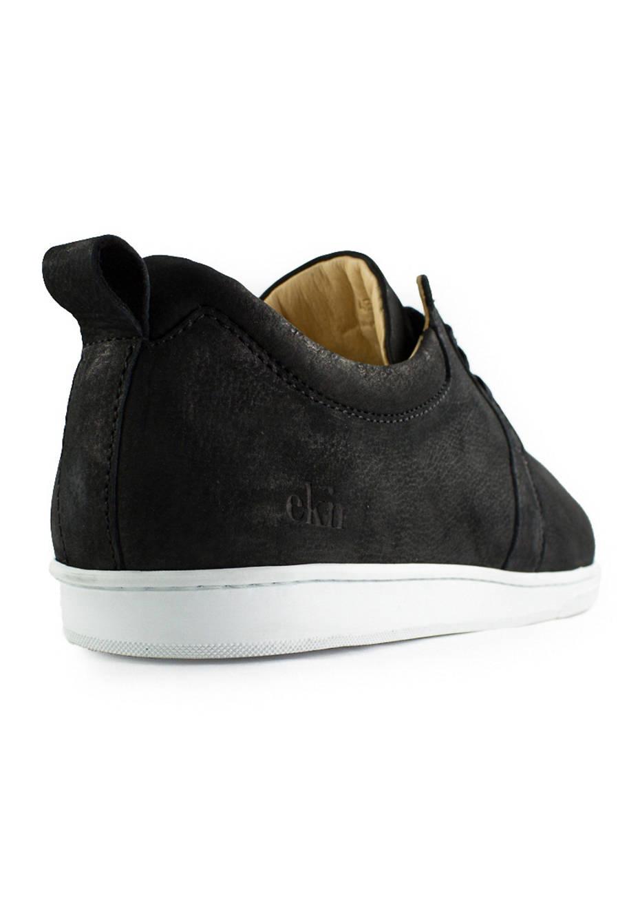 Birch / Black Leather