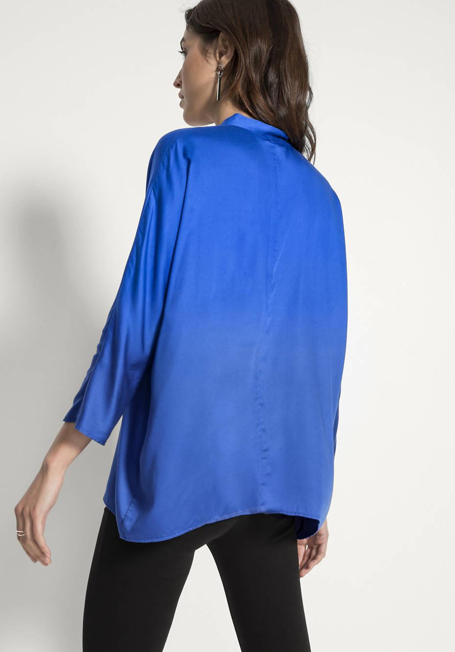 Bluse aus reinem Modal