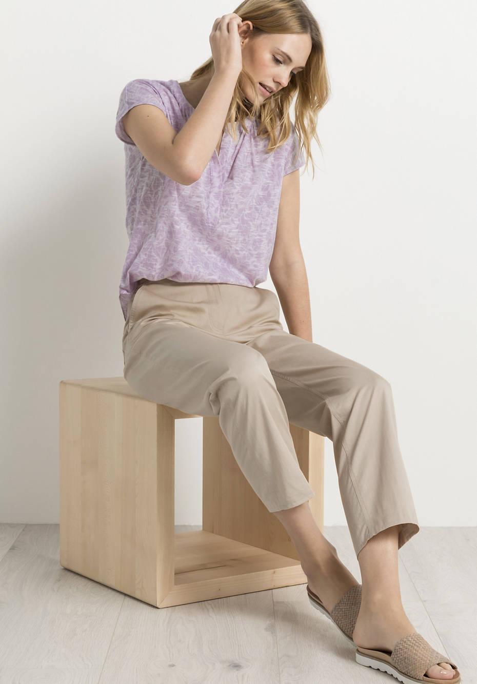 Blusen-Shirt aus reiner Bio-Baumwolle