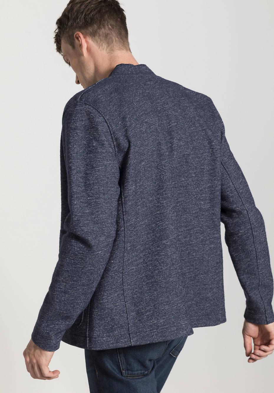 Boiled Wool Sakko aus Schurwolle mit Bio-Baumwolle