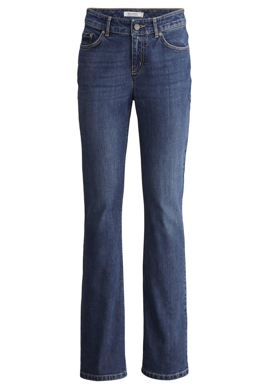 Bootcut jeans made of organic denim