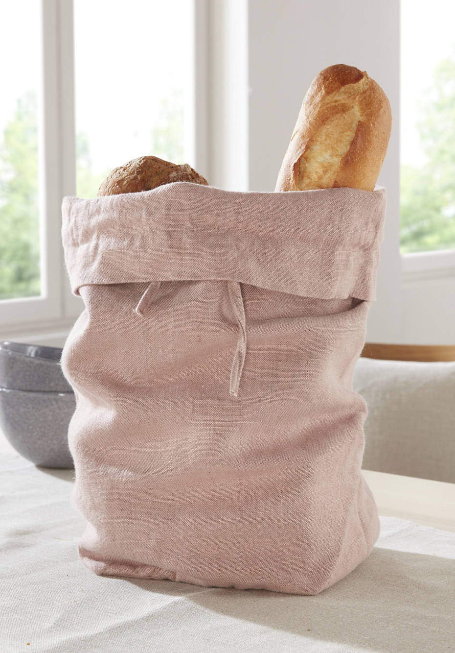 Brotbeutel aus Hessen-Leinen