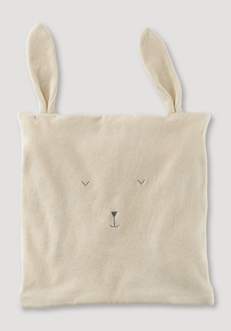 Bunny cushion cover made of pure organic cotton