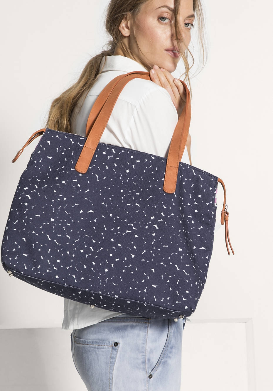Canvas-Tasche aus Bio-Baumwolle